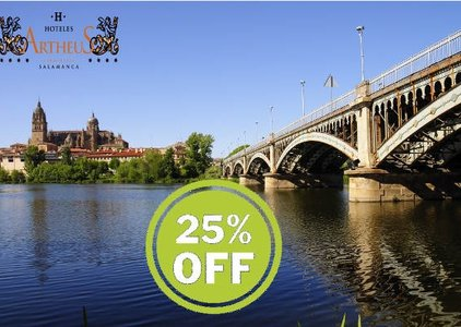The ARTHEUS CARMELITAS SERCOTEL offers you a 25% discount