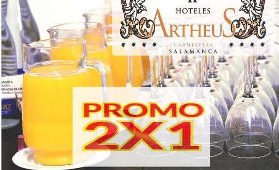 "Get your breakfast 2x1 at ""Sercotel  SERCOTEL ARTHEUS CARMELITAS SALAMANCA ..."